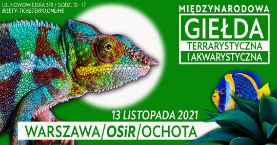 Giełda Terrarystyczna Warszawa